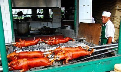 Philippines Lechon Roasted Pig